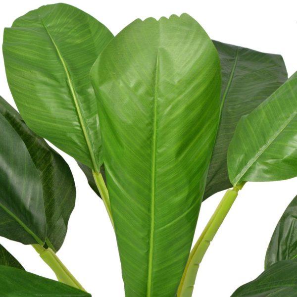 Künstlicher Bananenbaum mit Topf 150 cm Grün