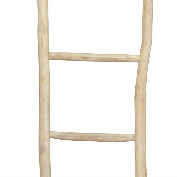Handtuchhalter Leiter mit 5 Sprossen Teak 45 x 150 cm