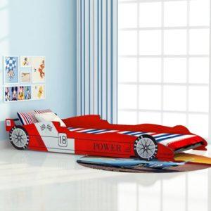 Rennwagen-Bett 90×200 cm Rot