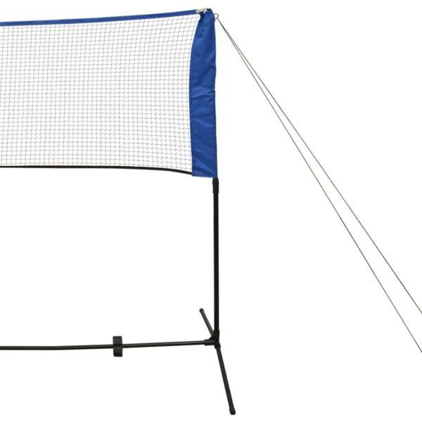 Badmintonnetz-Set mit Federbällen 300 x 155 cm
