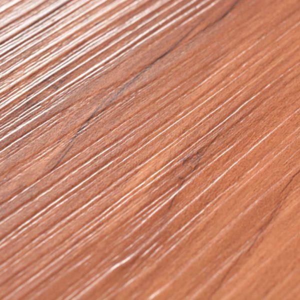 PVC Laminat Dielen Selbstklebend 5,02 m² 2 mm Ulme Natur