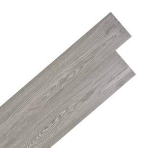 PVC Laminat Dielen Selbstklebend 5,02 m² 2 mm Dunkelgrau