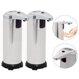 Automatischer Seifenspender 2 Stk. Infrarot-Sensor 600 ml