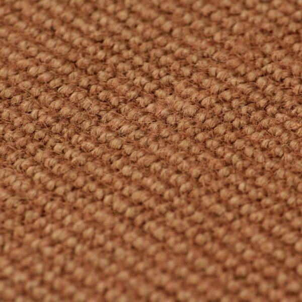Teppich Jute mit Latexrücken 80 x 160 cm Braun