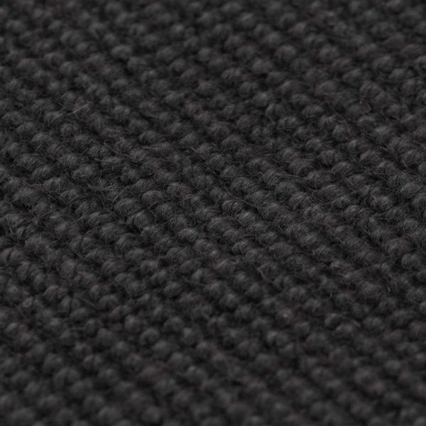 Teppich Jute mit Latexrücken 140 x 200 cm Grau