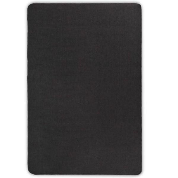 Teppich Jute mit Latexrücken 160 x 230 cm Grau