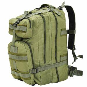 Rucksack im Army-Style 50 L Olivgrün