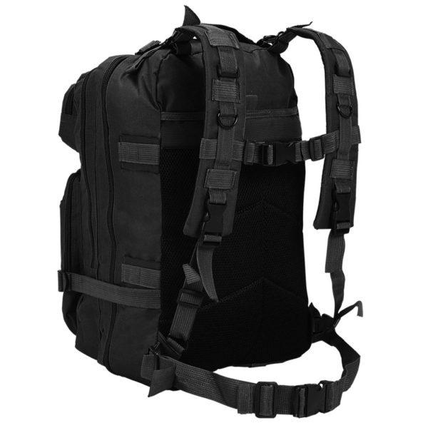 Rucksack Armee-Stil 50 L Schwarz