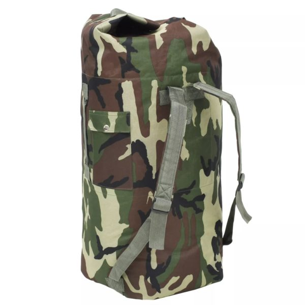 Seesack Armee-Stil 85 L Camouflage