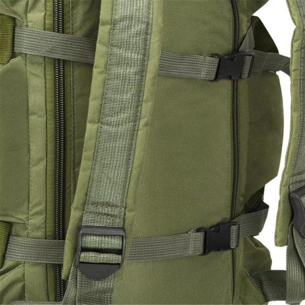 3-in-1 Seesack Armee-Stil 120 L Olivgrün