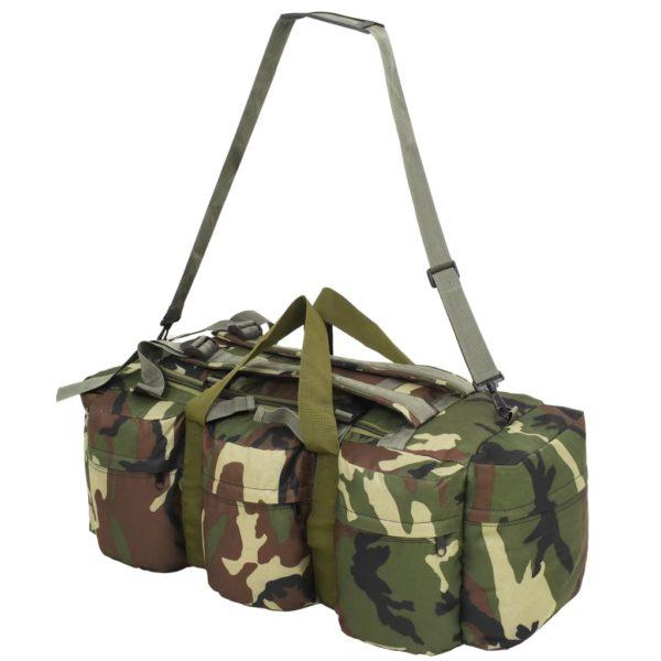 Seesack 3-in-1 Armee-Stil 120 L Camouflage
