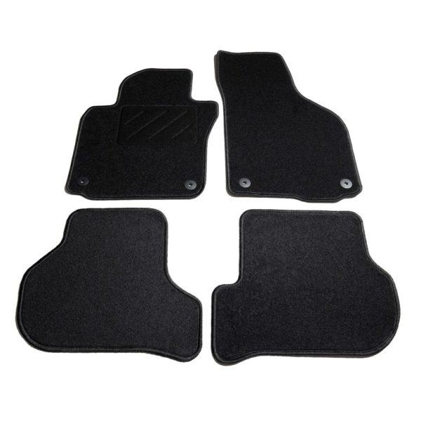 Autofußmatten-Set 4-tlg. für VW Golf 5/6 Scirocco