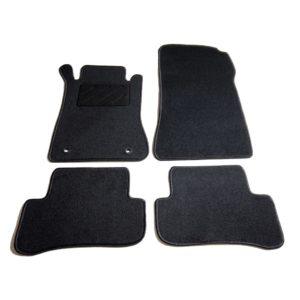 Autofußmatten-Set 4-tlg. für Mercedes W203 C-Klasse