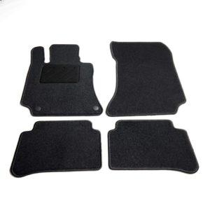 Autofußmatten-Set 4-tlg. für Mercedes W212 E-Klasse
