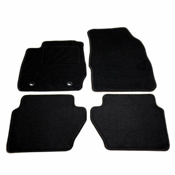 Autofußmatten-Set 4-tlg. für Ford Fiesta VI
