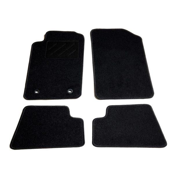 Autofußmatten-Set 4-tlg. für Peugeot 206 CC
