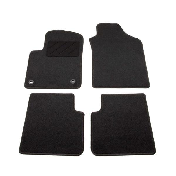 Autofußmatten-Set 4-tlg. für Fiat 500