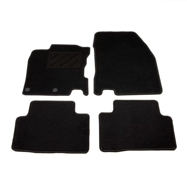 Autofußmatten-Set 4-tlg. für Nissan Qashqai