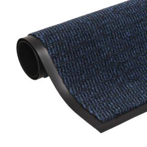 Schmutzfangmatte Rechteckig Getuftet 80 x 120 cm Blau
