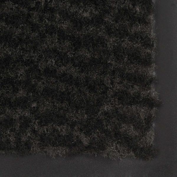 Schmutzfangmatte Rechteckig Getuftet 90 x 150 cm Schwarz