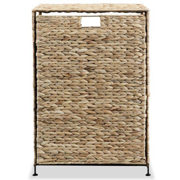 Wäschekorb 44 x 34 x 64 cm Wasserhyazinthe