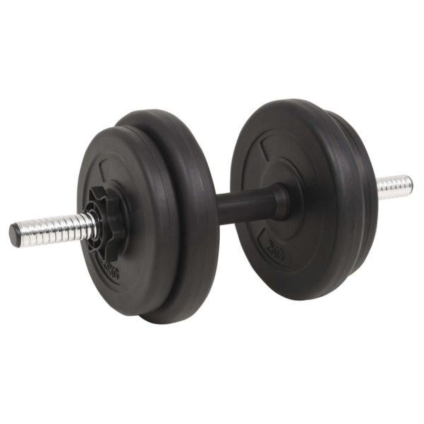 Langhantel- und Kurzhantelset 30 kg