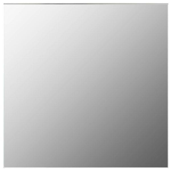 Wandspiegel 50 x 50 cm Quadratisch Glas