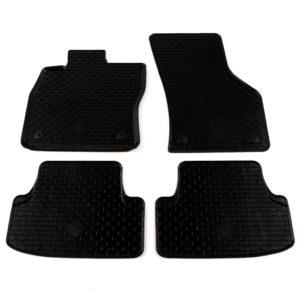 Gummi-Fußmatten-Set 4-tlg. für VW Golf VII A3 Leon