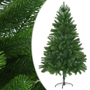 Künstlicher Weihnachtsbaum Naturgetreue Nadeln 210 cm Grün