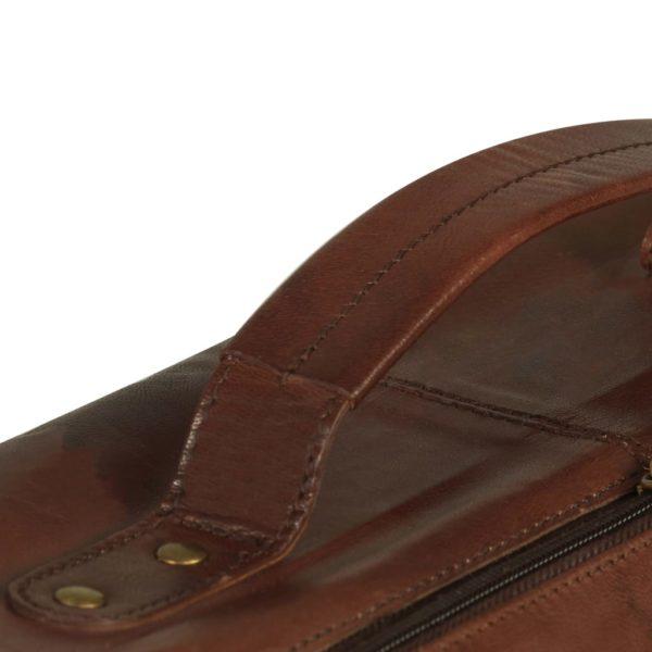 Weekender Tasche Braun Echtleder