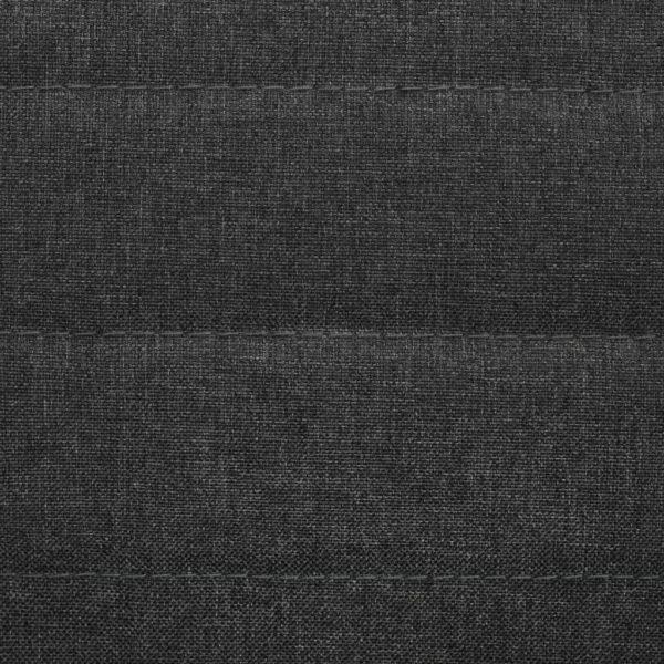 Esszimmerstühle 4 Stk. Dunkelgrau Stoff