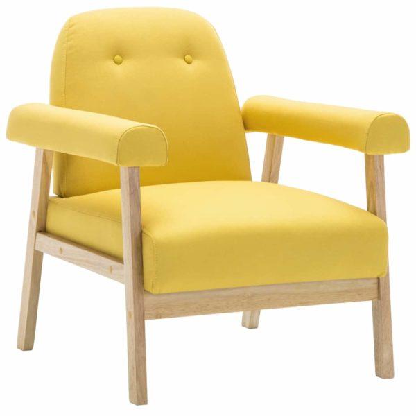 Sessel Gelb Stoff