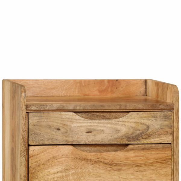 Nachttisch Mangoholz Massiv 40 x 30 x 59,5 cm