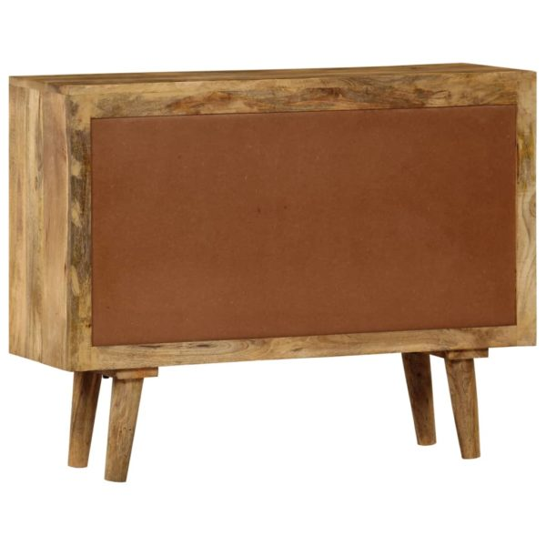 Sideboard Mangoholz Massiv 90 x 30 x 69 cm