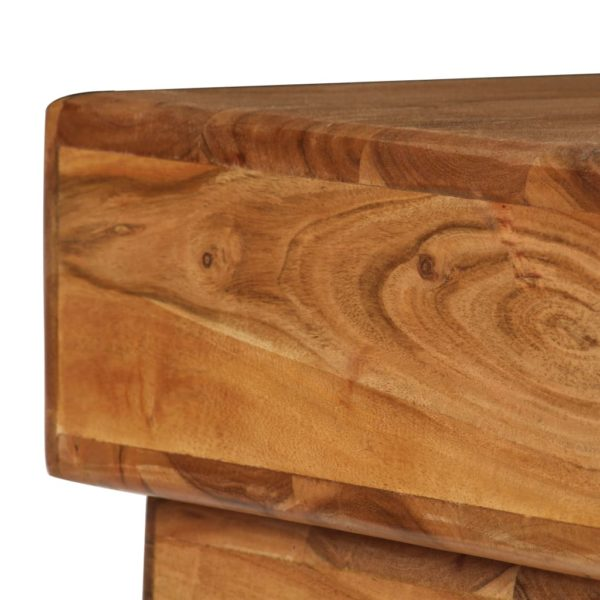 Nachttisch Akazienholz Massiv 40 x 35 x 49 cm