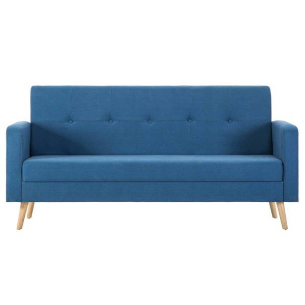 Sofa Stoff Blau