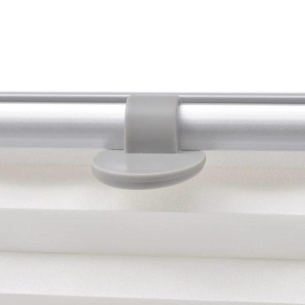 Faltenrollo Weiß CK02