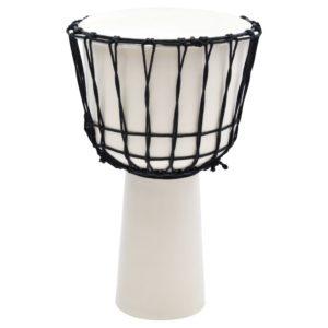 Djembé-Trommel mit Seilspannung 12″ Ziegenleder