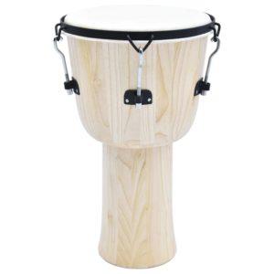 Djembé-Trommel mit Spannschraube 14″ Ziegenleder