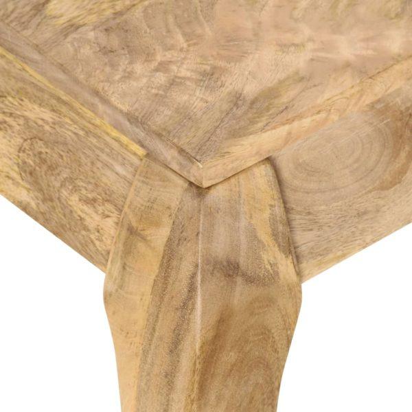 Couchtisch 116 x 66 x 41 cm Mangoholz Massiv