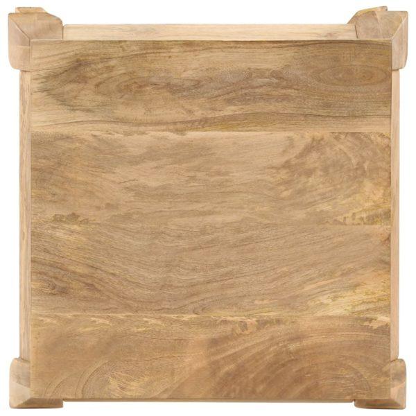 Beistelltisch 45 x 45 x 40 cm Mangoholz Massiv