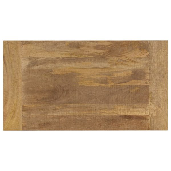 Couchtisch 110 x 60 x 40 cm Mangoholz Massiv