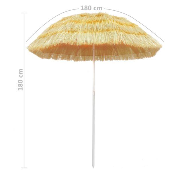 Strandschirm Natur 180 cm Hawaii Style