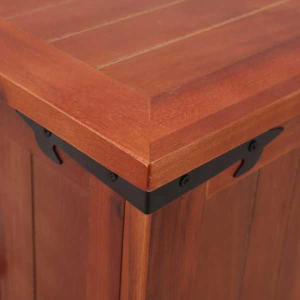 Aufbewahrungstruhe 90 x 45 x 40 cm Akazien-Massivholz