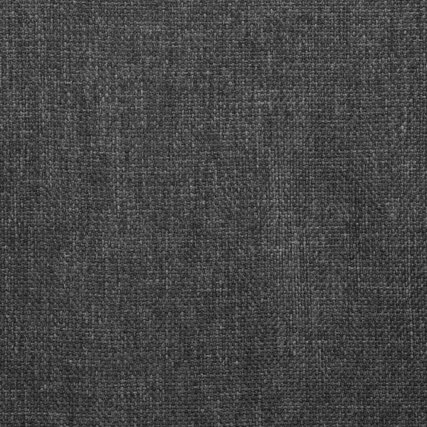 Drehbare Esszimmerstühle 2 Stk. Dunkelgrau Stoff
