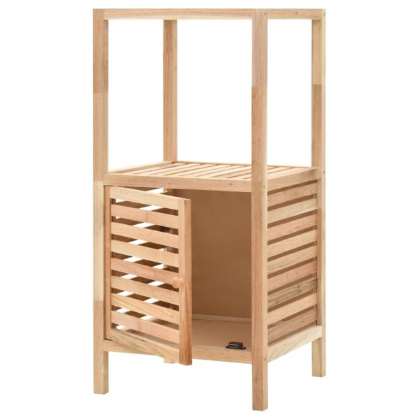 Badezimmerschrank Nussbaumholz Massiv 39,5 x 35,5 x 86 cm