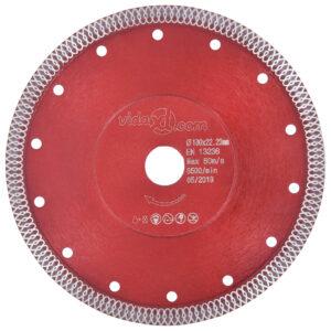 Diamant-Trennscheibe mit Löchern Stahl 230 mm