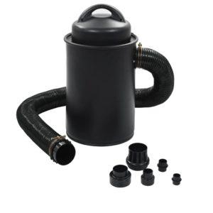Absauganlage mit Adapter Set Schwarz 1100 W