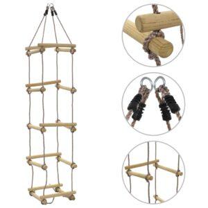 Kinder-Strickleiter 200 cm Holz