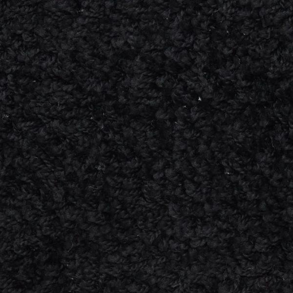 15 Stk. Treppenmatten Schwarz 56 x 20 cm